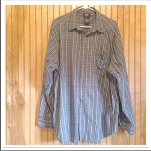 Mens Button Down Dress Shirt